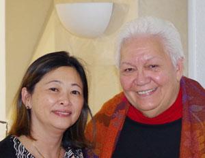 Caroline Tang et Flora Devatine
