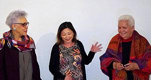 Gisèle Bourquin, Caroline Tang et Flora Devatine