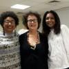 Dr Marie-Antoinette Séjean, présidente de Nutricréole et adhérente de FAM ; Myriam Cottias , ex-présidente du Comité national pour la mémoire et l'histoire de l'esclavage (CNMHE), historienne ; Lise-Marie Ranner , journaliste, relations publiques, adhérente de FAM